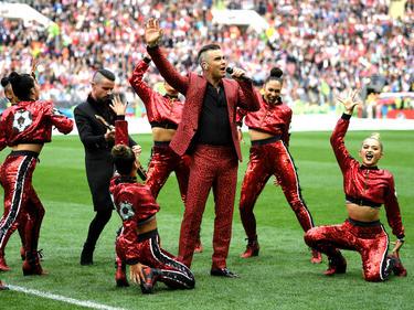 Robbie Williams hat sich für das deutsche Team gefreut