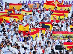 Die Anhänger von Real Madrid freuen sich auf die Partie gegen PSG