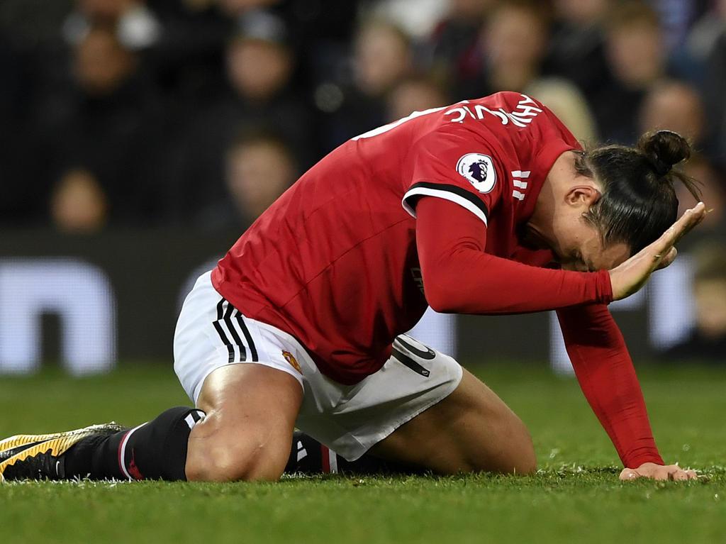 Zlatan Ibrahimovic wird Manchester United lange fehlen