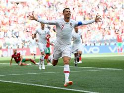 Mal wieder Mann des Tages: Cristiano Ronaldo