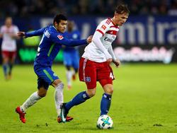 Jann-Fiete Arp verdient sich in dieser Saison seine ersten Bundesliga-Sporen