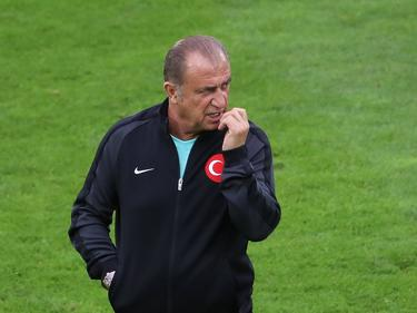 Fatih Terim en una imagen del pasado junio en la Eurocopa. (Foto: Imago)