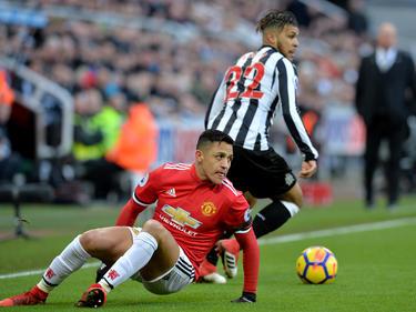 Alexis Sánchez verlor mit Manchester United gegen Newcastle