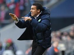 Bleibt bis zur Winterpause Wolfsburg-Coach: Valérien Ismaël