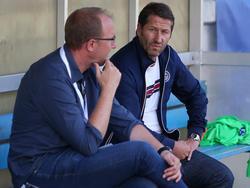 Sportchef Günter Kreissl und Trainer Franco Foda denken bereits über die kommende Saison nach
