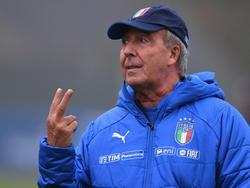 Gian Piero Ventura was sacked as Italy coach