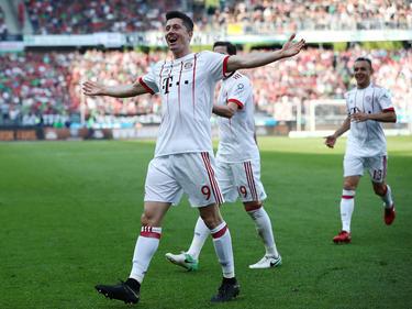 Robert Lewandowski traf für den FC Bayern kurz nach seiner Einwechslung