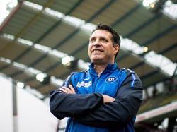KSC-Coach Alois Schwartz ist optimistisch
