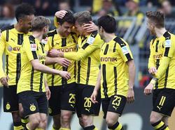 Teamgeist in schwarzgelb: Der BVB vor dem Viertelfinal-Rückspiel in Monaco