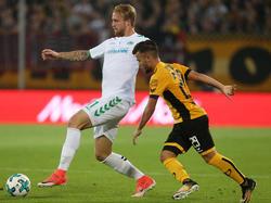 Philipp Hofmann (l.) läuft in der Rückrunde für Eintracht Braunschweig auf