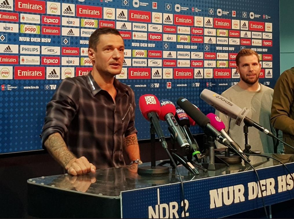 Spielt ab sofort für den HSV: Sejad Salihović (Bildquelle: Twitter @hsv)