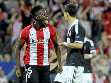 Iñaki Williams marcó un 'doblete' en tan solo cinco minutos. (Foto: Imago)
