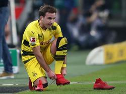 Fliegt Mario Götze beim BVB aus dem Kader?