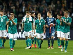 Die DFB-Elf kann nach dem Auftritt gegen Spanien ein positives Fazit ziehen