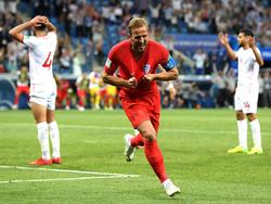 Kane subrayó su importancia para Inglaterra con un doblete. (Foto: Getty)