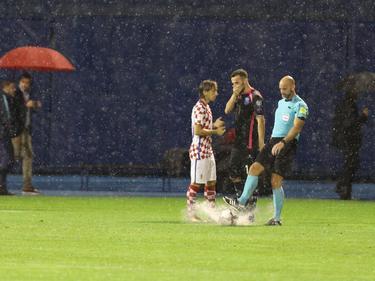 Am Samstag wurde das Quali-Spiel zwischen Kroatien und Kosovo abgebrochen