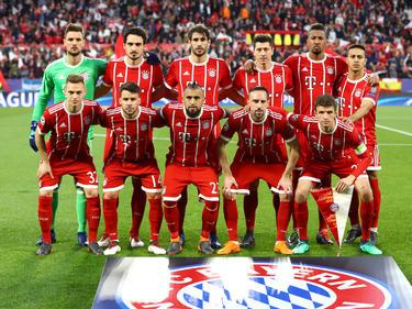 Once inicial del Bayern en el Sánchez-Pizjuán contra el Sevilla. (Foto: Getty)