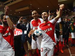 Bernardo Silva (r.) ragt bei der AS Monaco heraus