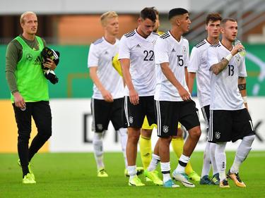 Deutschlands U21-Kicker nach der Testspielpleite gegen Ungarn