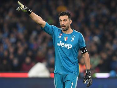 Gigi Buffon zeigt es an - nur die Tabellenspitze zählt