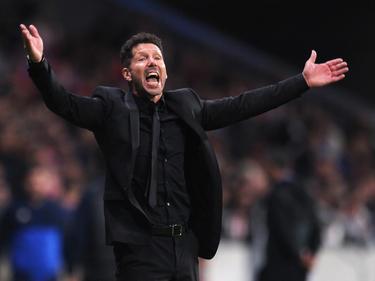 Darf drei Pokal-Spiele lang nicht am Spielfeldrand stehen: Diego Simeone