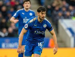 Für Aleks Dragović geht es in Leicester endlich wieder bergauf. © imago/UK Sports Pics Ltd