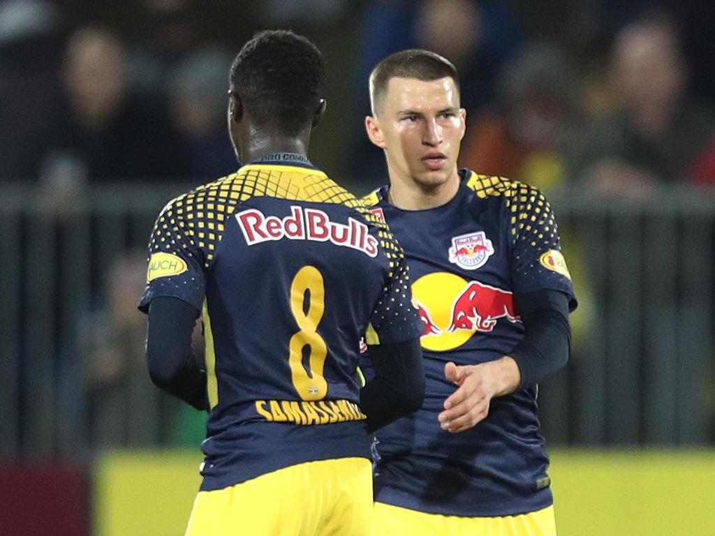 Samassekou und Lainer boten starke Europacup-Leistungen