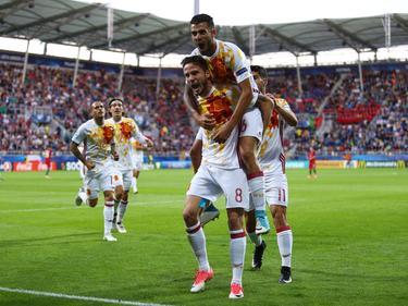 Die U21 der Spanier steht im Halbfinale der EM