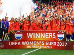 De OranjeLeeuwinnen zijn Europees Kampioen! (06-08-2017)