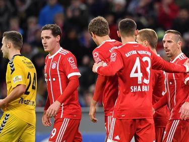 Bayern München gewinnt mit Mühe gegen Großaspach