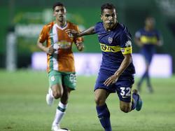 Tévez fue el autor del único tanto de Boca Juniors. (Foto: Getty)