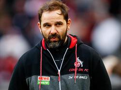 Stefan Ruthenbeck will gegen den HSV auf Sieg spielen