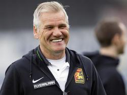 Admira-Sportdirektor Ernst Baumeister vermeldete zwei Abgänge als fix