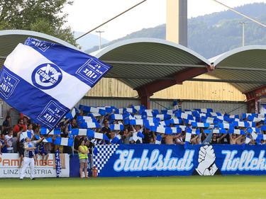 Blau Weiß Linz ist Meister in der Regionalliga Mitte