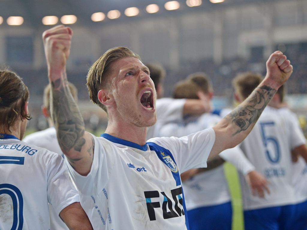 Philip Türpitz erzielte das 3:0 für den FCM