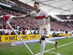 Der Vertrag von Daniel Ginczek in Stuttgart läuft noch bis 2020