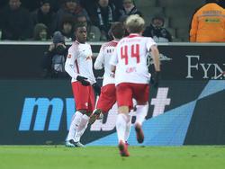Ademola Lookman erzielte den Siegtreffer für RB Leipzig