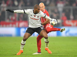 Ryan Babel verlor das Hinspiel in München deutlich