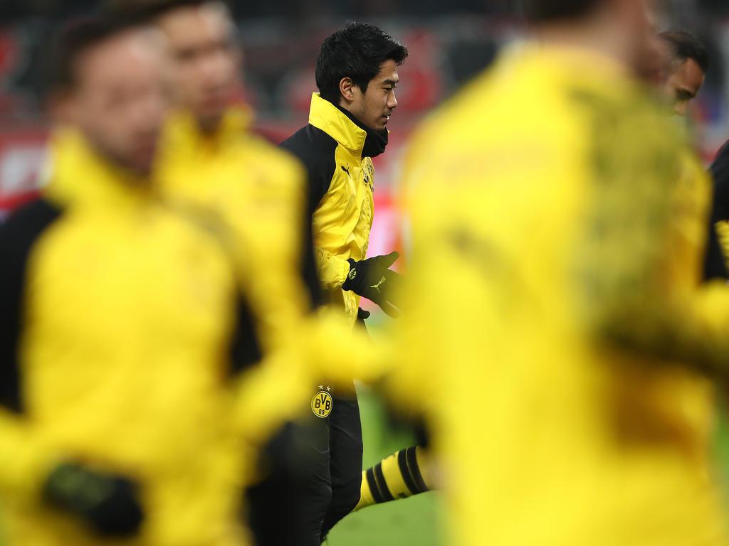 Shinji Kagawa fehlt dem BVB voraussichtlich in der Europa League