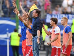 Christian Titz braucht einen Sieg gegen den VfL Wolfsburg
