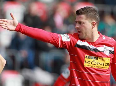 Nermin Crnkic von Rot-Weiß Erfurt wird für vier Spiele gesperrt