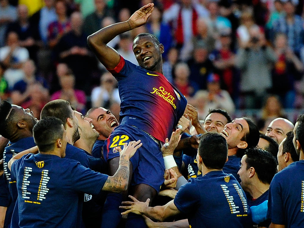Éric Abidal spielte lange in Barcelona und für Frankreich