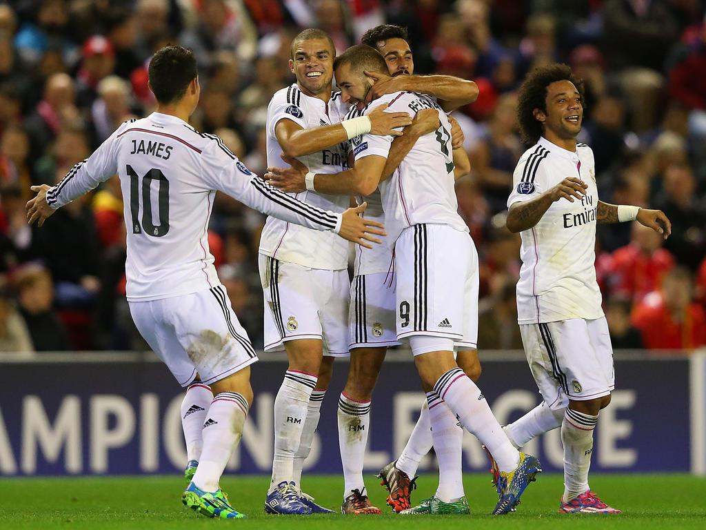 Champions League » Nieuws » Real Madrid maatje te groot ...