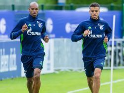 Naldo (l.) und Di Santo fehlen wohl gegen den FC Bayern