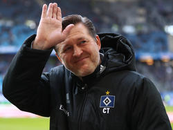 HSV-Trainer Christian Titz verbreitet Zweckoptimismus