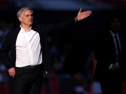 José Mourinho verlor mit Manchester United im Finale des FA Cups