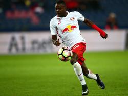 Dimitri Oberlin erlitt bei der Schweizer U20 eine Muskelverletzung