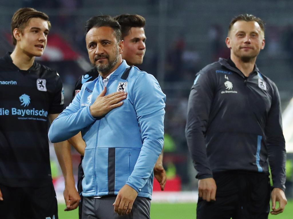 1860-Trainer Vítor Pereira will mit seinem Team in der 2. Liga bleiben