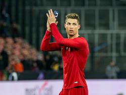 Auf Cristiano Ronaldo ruhen die Hoffnungen der Portugiesen