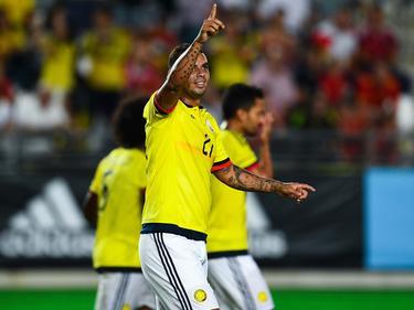Edwin Cardona en un amistoso contra España. (Foto: Getty)